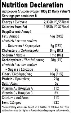 Nutritional Value / Label