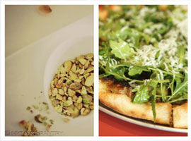 Add pistachios to your pizza toppings