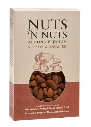 Almond premium roasted and unsalted